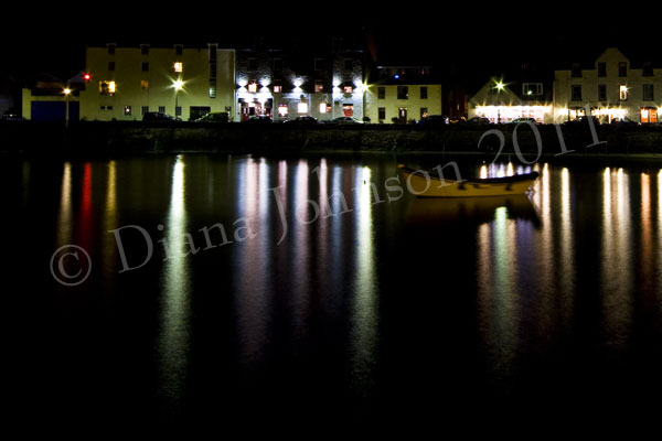 Harbour reflections, Stonehaven
